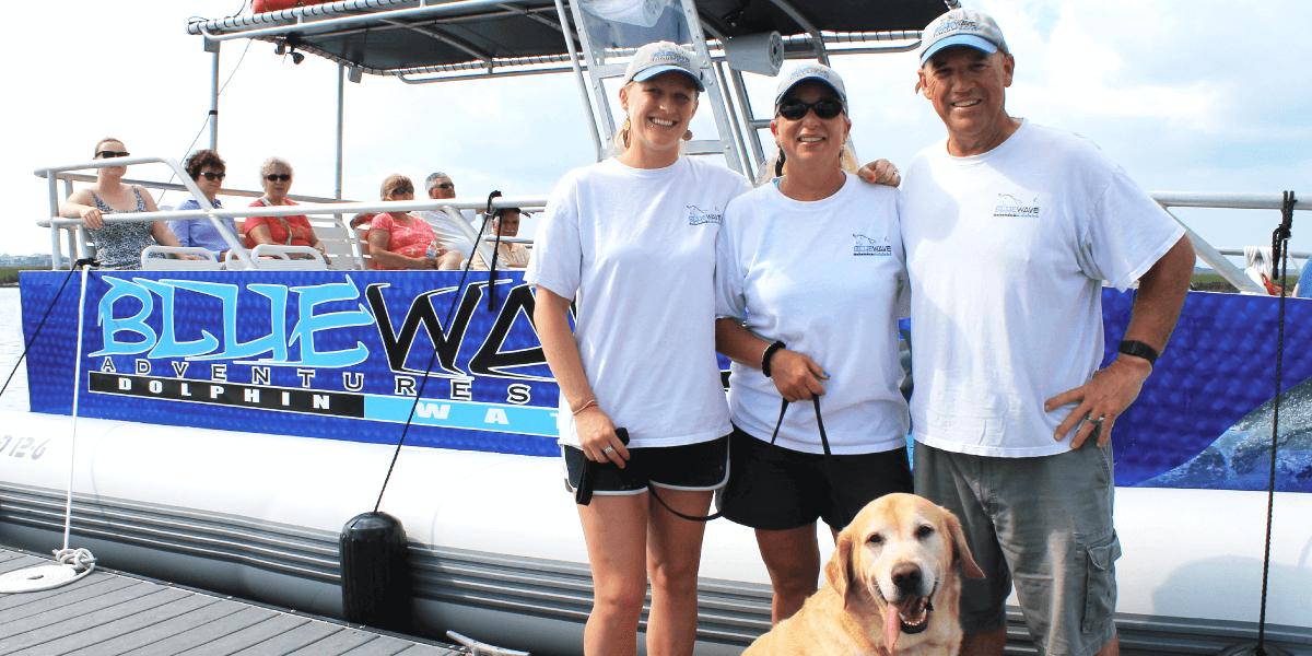 Blue Wave Adventures Crew
